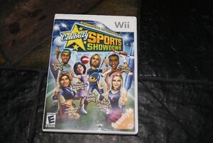 Nintendo Wii Celebrity Sports Showdown