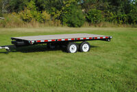 FOR SALE UTILITY TRAILER - DECK OVER - TANDEM