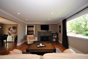 3 BRM Open Concept, Bright & Modern. Close to G Dumont/Downtown