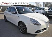 2014 Alfa Romeo Giulietta 1.4 TB MultiAir Collezione 5dr Petrol white Manual