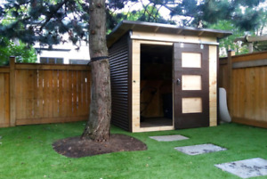Modern and Custom Garden Sheds