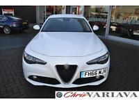 2016 Alfa Romeo Giulia TB SUPER ** 2.0 PETROL 200BHP ** 18inch Alloys Petrol whi