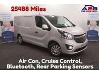 2015 15 VAUXHALL VIVARO 1.6 CDTI SPORTIVE 120 BHP BI-TURBO AIR CON, VERY LOW MI