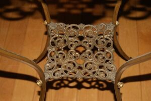 Antique Victorian PLANT STAND Brass & Marble - gorgeous ! West Island Greater Montréal image 4