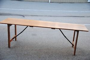 long wood Table