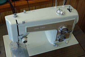 Kenmore Sewing Machine and Cabinet - fully serviced and ready!