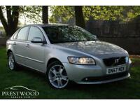 2007 / 57 VOLVO S40 2.0D S [135 BHP] 4 DOOR SALOON - METALLIC SILVER * HIGH SPEC