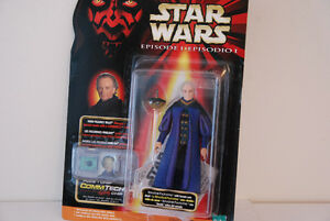 STAR WARS EPISODE ONE SENATOR PALPATINE WITH COMM TECH Chip