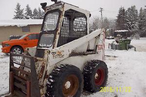 Bobcat 825-Perkins Motor-Has bucket and Fork $7000 OBO Edmonton Edmonton Area image 3