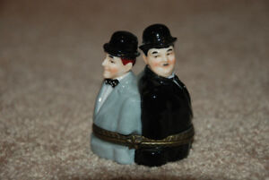 Laurel and Hardy collectable Ring Box