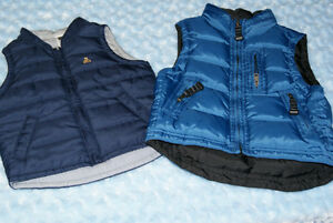 2 Boys Baby Gap Vests Size 2 years