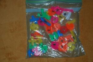 Bag of numbers + - % x etc... fridge magnets (have never been us