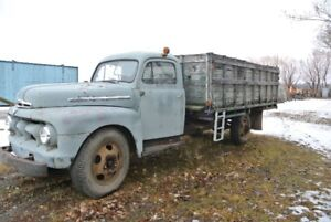 1951 Mercury Grain Truck