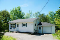 Updated 3 bedroom, one bathroom home with garage in Rothesay