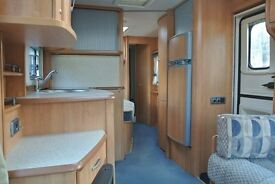 Ace Supreme Twinstar twin axle 4 berth caravan 2006