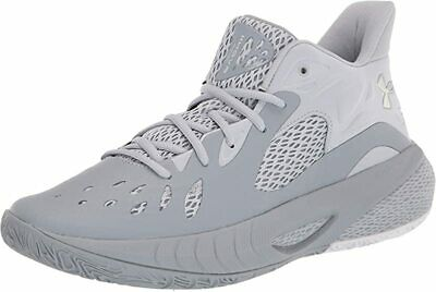 Under Armour Men's HOVR Havoc 3 Basketball Shoes, Steel/Grey, 10.5 D(M) US