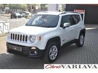 2016 Jeep Renegade 1.4 Multiair Limited 5dr 4WD Auto Petrol white Automatic