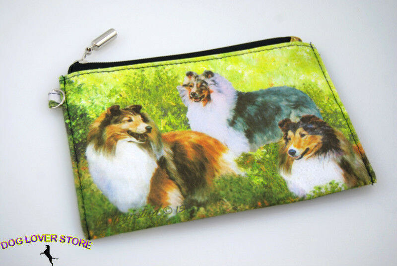 Sheltie Travel Makeup Bag