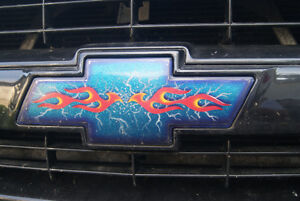 custom motorcycle paint and Air Brushing