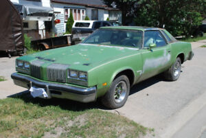 1976 Oldsmobile Cutlass Supreme Hurst Hatch T-Roof