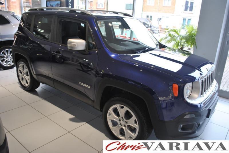 2016 Jeep Renegade M-JET LIMITED 4X4 ** SAVE �£7195 ** Diesel blue Manual