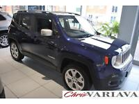 2016 Jeep Renegade M-JET LIMITED 4X4 Diesel blue Manual