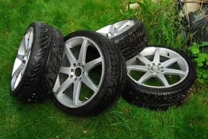 "UNIVERSAL 17"" RIMS WITH TIRES...AJAX Kitchener / Waterloo Kitchener Area image 3"