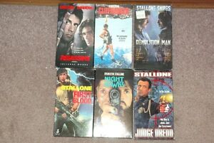 Sylvester Stallone VHS tape collection Moose Jaw Regina Area image 1