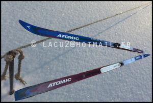 Ski de fond Atomic BC, 191cm fixation SNS Salomon entretien fait