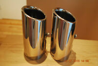 2007 Acura CSX Factory Stainless Exhaust Tips