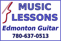Acoustic Guitar Lessons in Edmonton