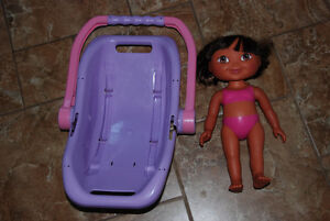 Dora doll + purse / sac à main et poupée Dora