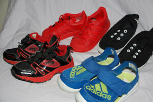 BOYS RUNNING SHOES size 9 - Classic, ADIDAS, toddler