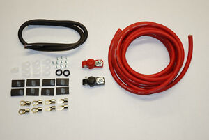 XS Power 2 Gauge Trunk Mount Battery Cable Kit - New!!!
