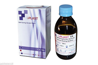 Self Curing Acrylic Resin For Dentures Casting Systems Dental Lab Product
