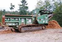 REDUCED!!!  BANDIT 3680 TRACK BEAST HORIZONTAL GRINDER