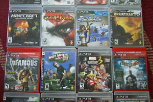 Two PS3 three controllers and 25 games West Island Greater Montréal image 5