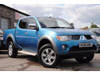 2006 Mitsubishi L200 Elegance 2.5 Diesel Automatic Blue 4x4 Pick Up