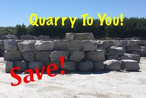 SAVE! Armour STONE_Deliverd! Quarry ROCK_To you! Peterborough Peterborough Area image 1