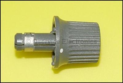 1 Pc Tektronix Knob Gray With Long Shaft For Oscilloscopes Id Q009694 - Nos