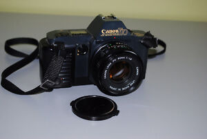 Canon T70 35mm SLR Film Camera with 50mm Canon Lens