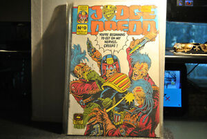 JUDGE DREDD - No 9 - Quality Comics