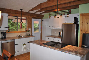 Waterfront, south facing cottage 10 min  from Tremblant