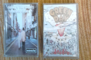 Classic Audio Cassettes Green Day Oasis