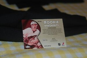 2005-06 Fleer Ultra Rookie Uniformity Keith Ballard Jersey Card Regina Regina Area image 2