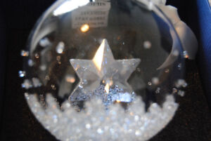 Discontinued Swarovski Christmas Ball Ornament, Annual Edition 2