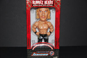 Chris Jericho Bobblehead Rumble Heads WWF WWE Aspen Series 1