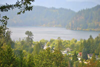 6 Acre Lot with Stunning Lake Views in Hope