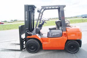 Forklift,pneumatic,sideshift,7000pds,toyota 7FGU35