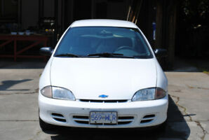 White Chevy Cavalier with low KMs